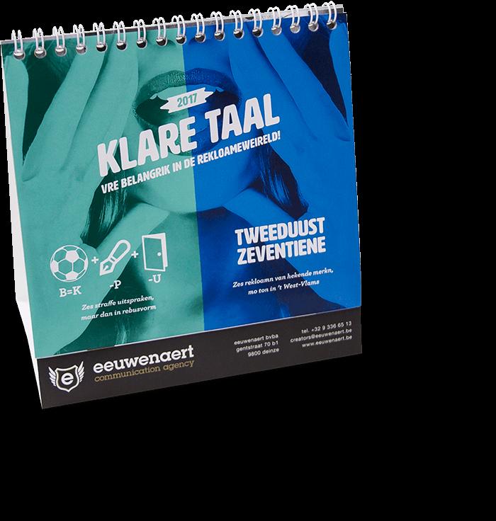 Eeuwenaert Kalender 2017