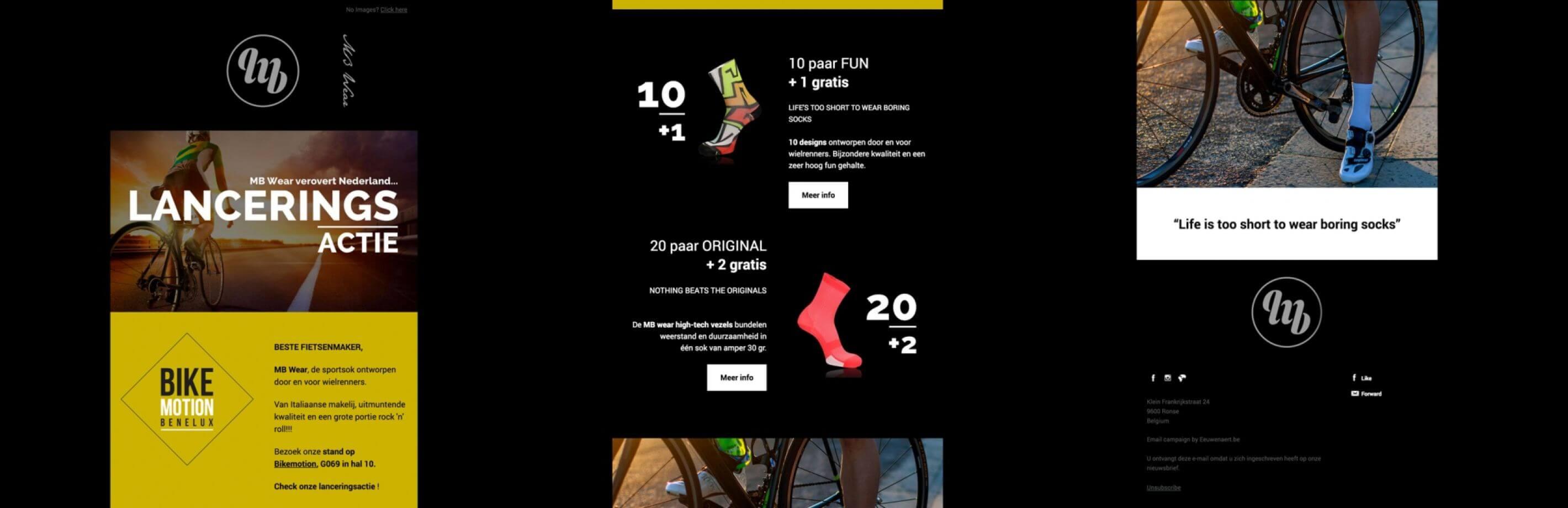 Velda Cycling Mbwear Mailing