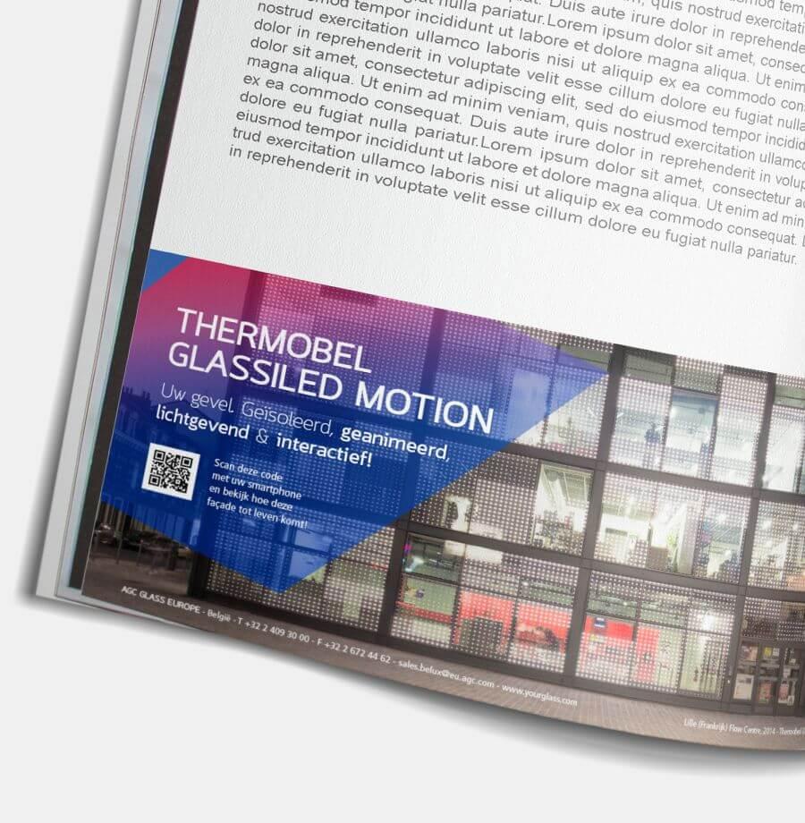 """AGC Advertentie Magazine """"Knack"""""""