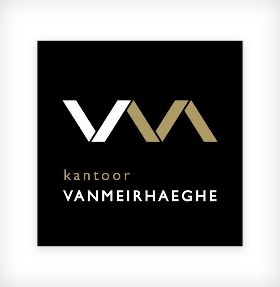 Logo ontwerp kantoor Vanmeirhaeghe
