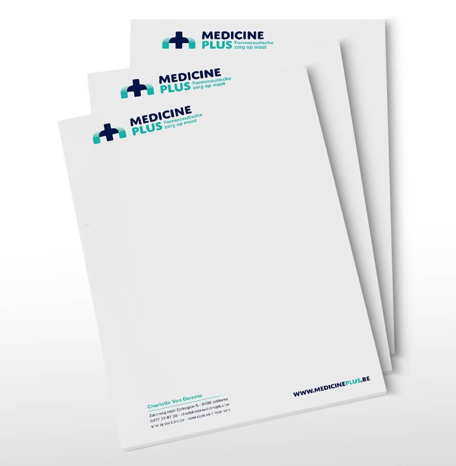 Medicine Plus A4 blad