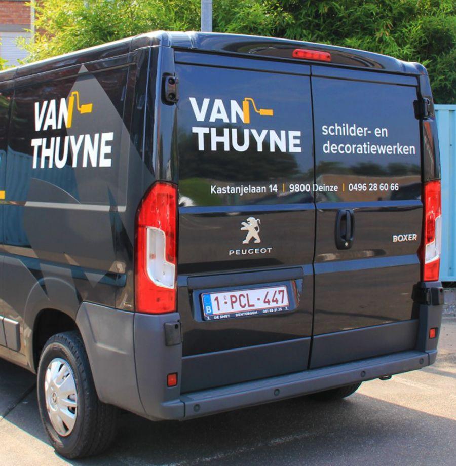 Van Thuyne - Voertuigbelettering