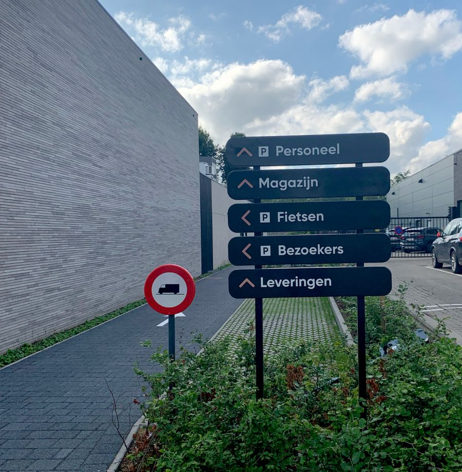 Verolift parkingsignalisatie
