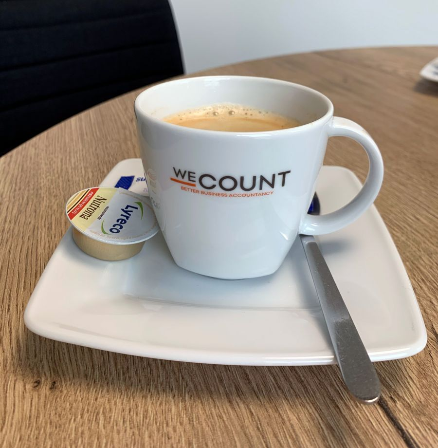 We Count koffietas