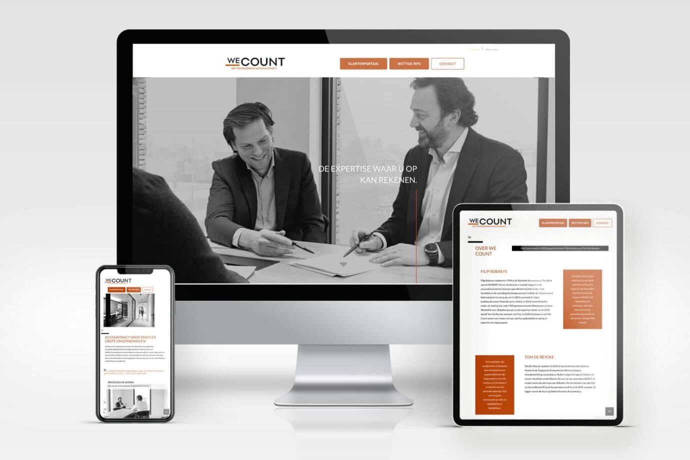 We Count website