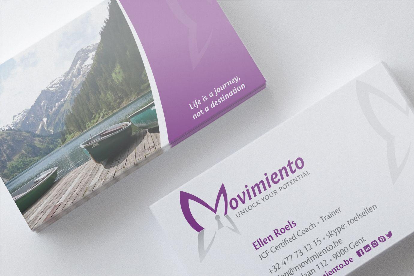 Movimiento visitekaartjes