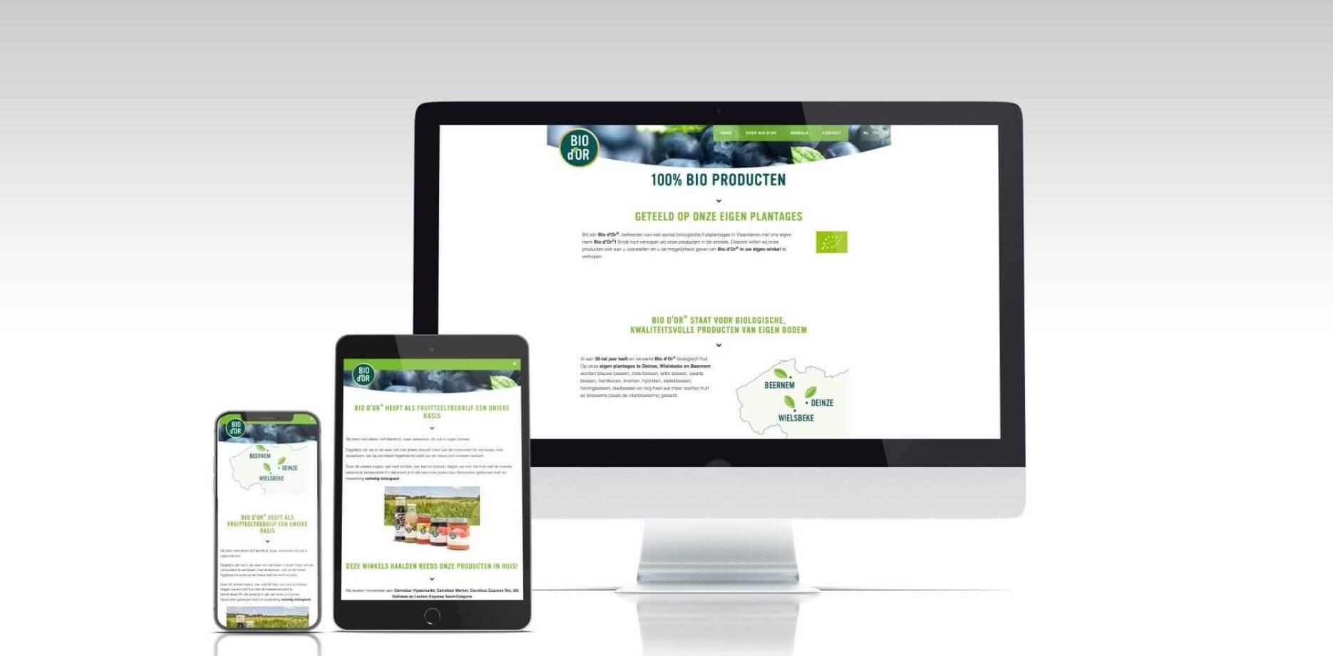 Bio d'Or website