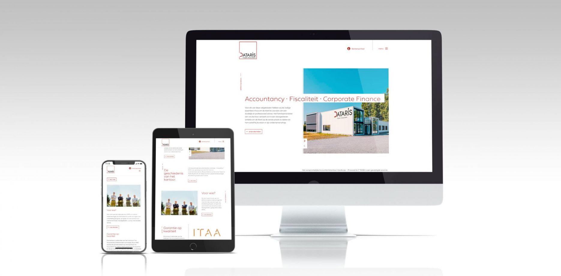 Dataris website