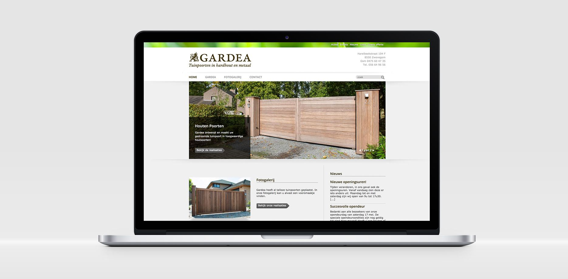 Gardea website
