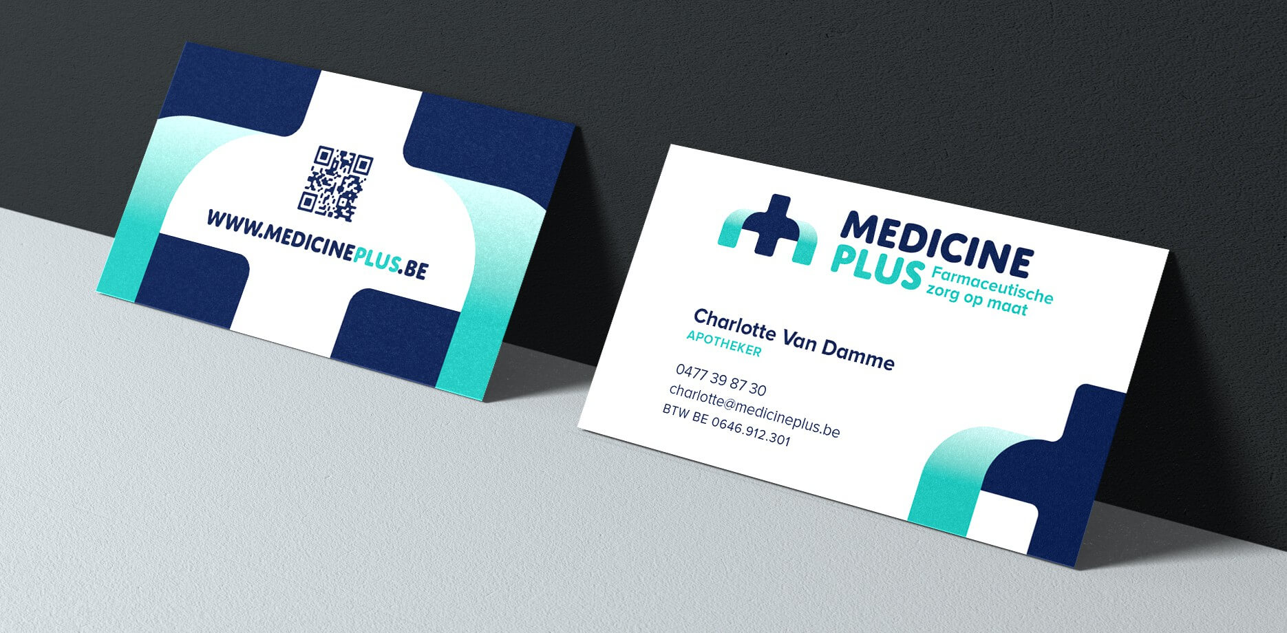 Medicine Plus Visitekaartje
