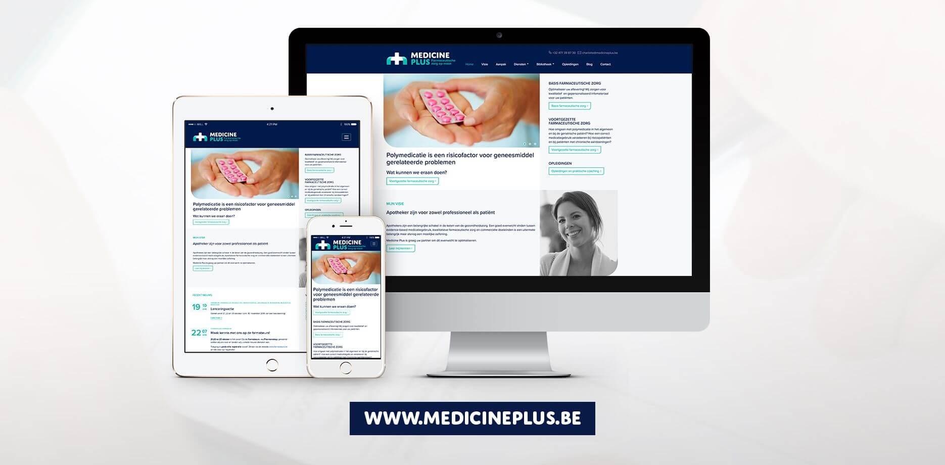Medicine Plus website