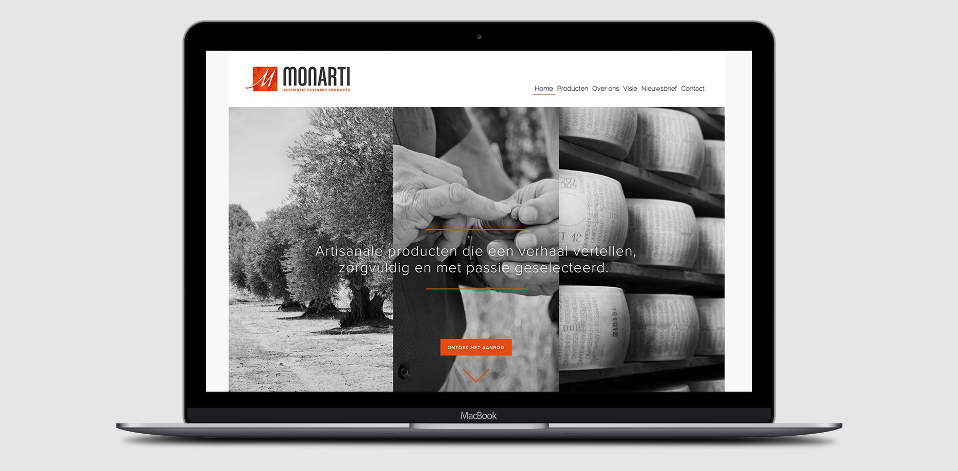 Monarti Website