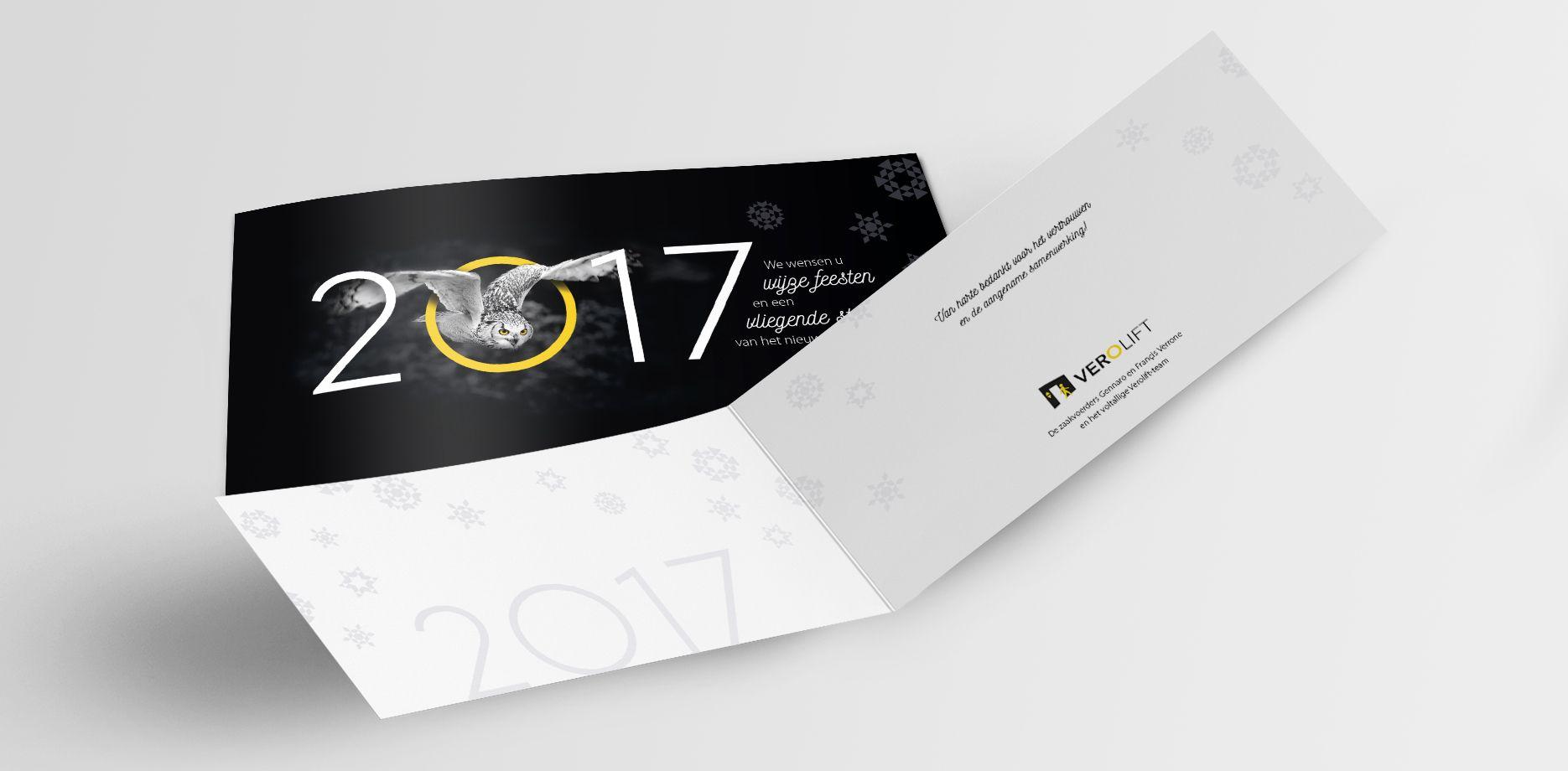 Verolift Nieuwjaarskaart