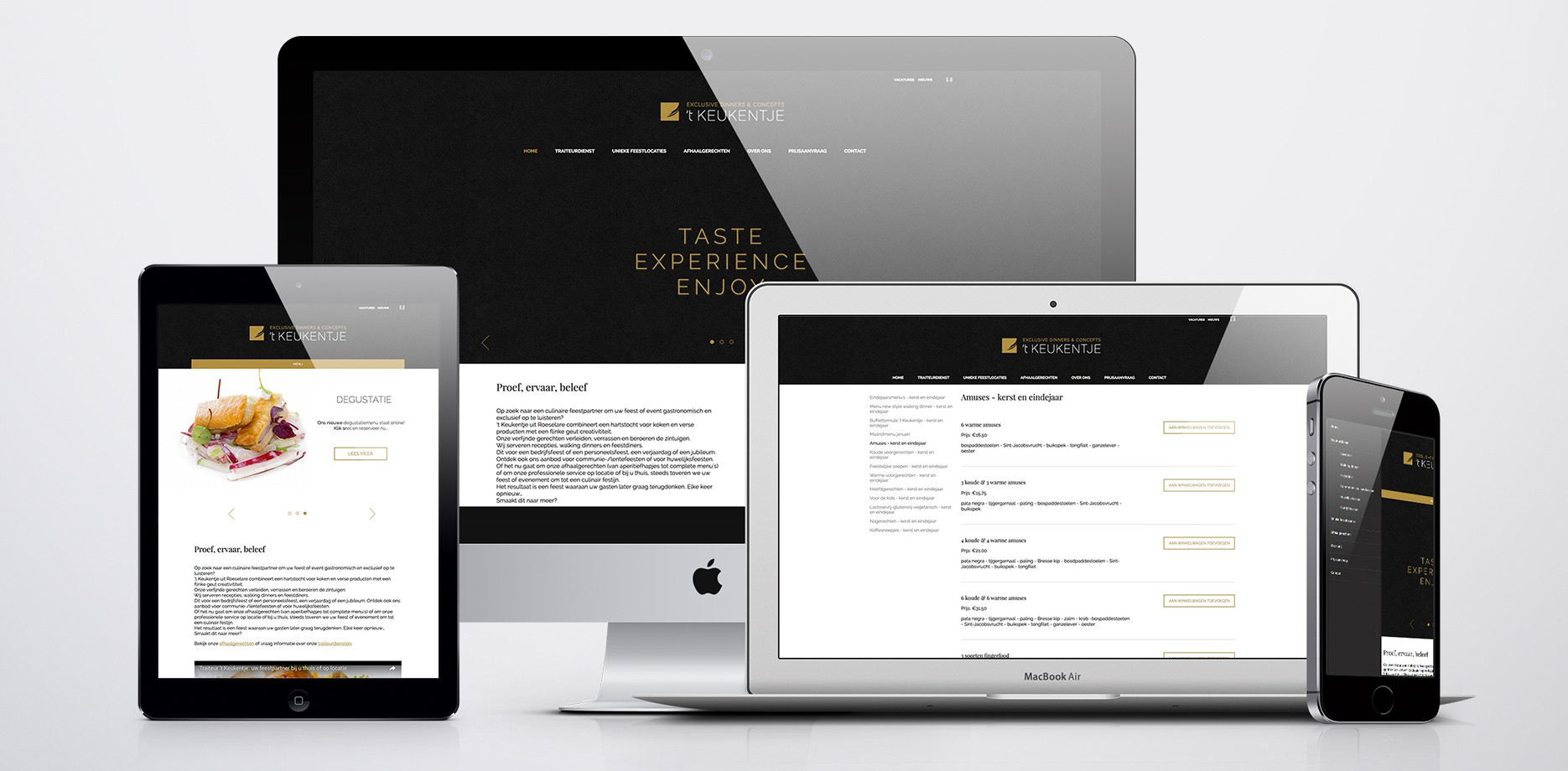 't Keukentje website