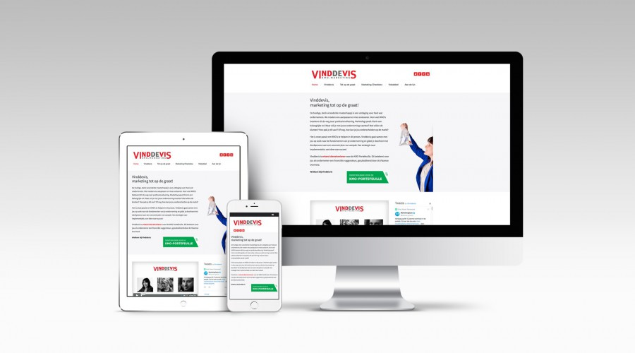 Vinddevis website