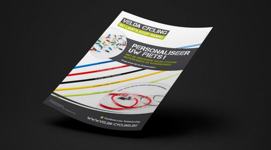 Leaflet A5 Velda Cycling
