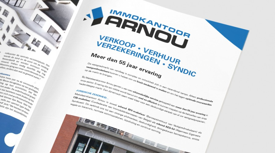 Arnou Immokantoor Advertentie